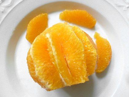 und die Orange filetieren