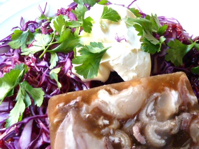 Frischer Salat zu Trotter Gear