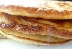 Pancakes gestapelt
