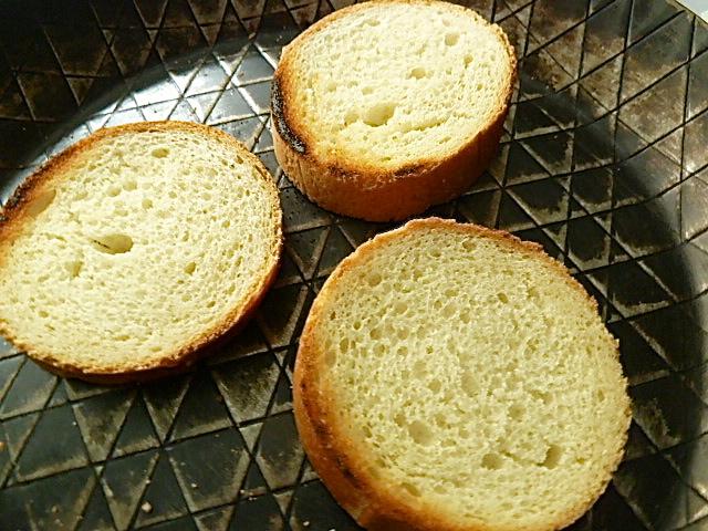 Brot anrösten