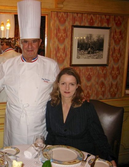 ich mit Paul Bocuse in Lyon