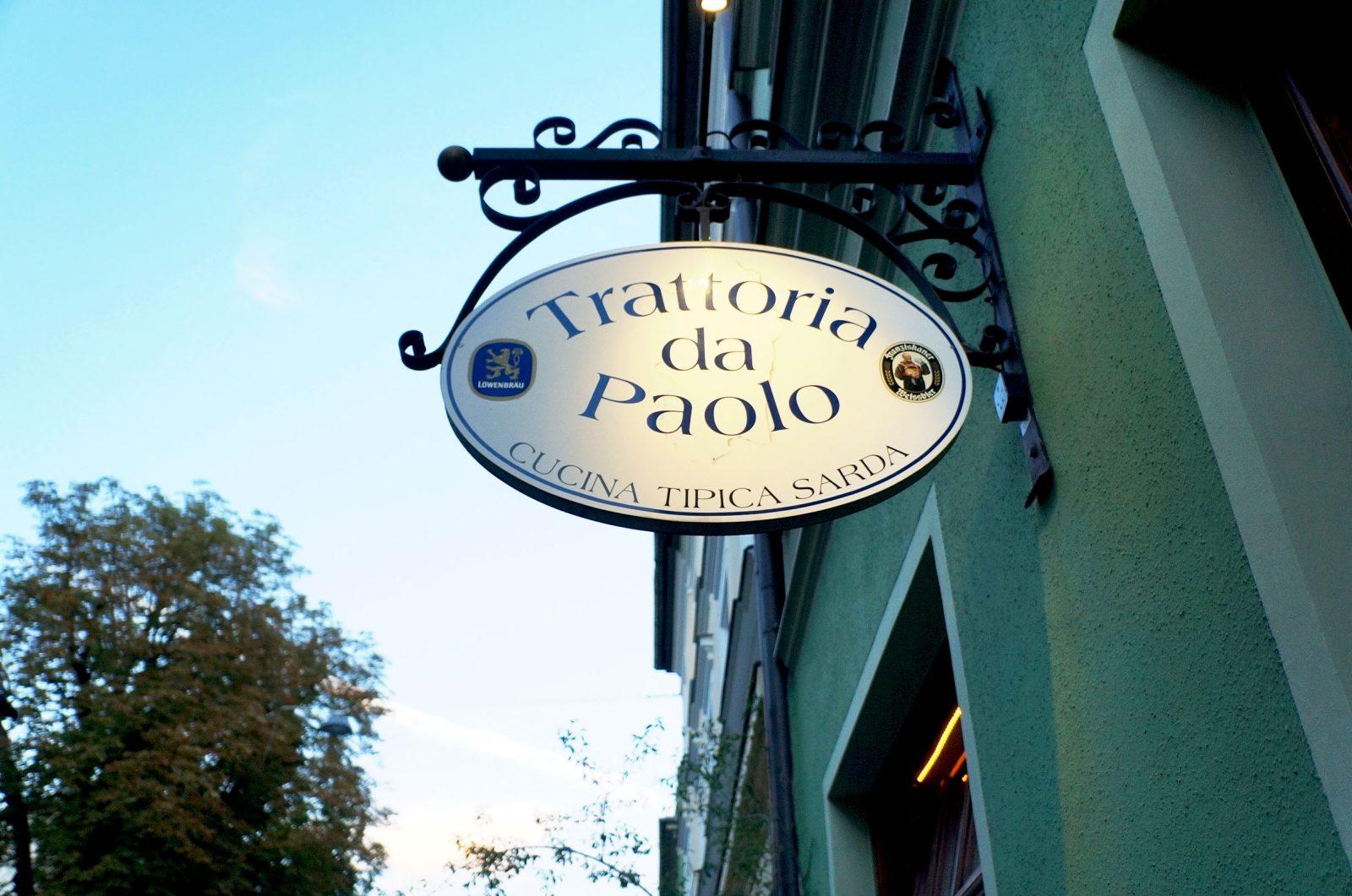 Ein Sardischer Abend In Der Trattoria Da Paolo