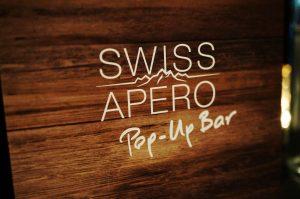 Pop-up Bar in der Registratur
