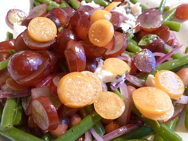 Würzig-fruchtiger Bohnensalat