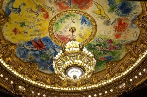 die Deckenbemalung von Chagall